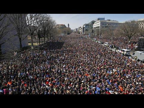 March for Life: Schüler fordern schärferes Waffenrecht