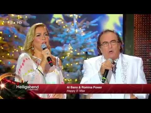 al bano e romina in una stupenda esibizione natalizia in germania
