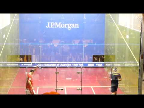 2014 Squash: Simon Rosner vs Karim Darwish