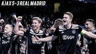 Video AJAX v REAL MADRID - The Fall Of The Kings | 5-3 Cinematic Highlights ❌❌❌ MP3, 3GP, MP4, WEBM, AVI, FLV April 2019