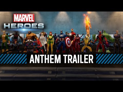 Marvel Heroes — Anthem Trailer