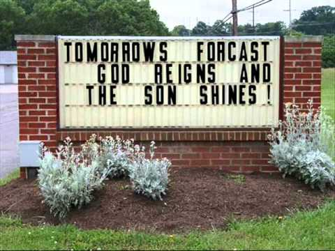 FUNNY CHURCH SIGNS Video Adventist Voice Adorable Church Sign Quotes