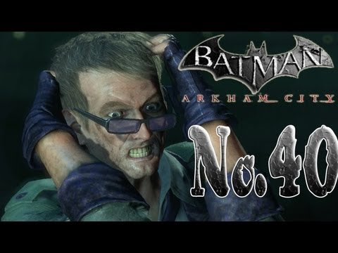 Batman arkham city - The Riddler's last hostage!