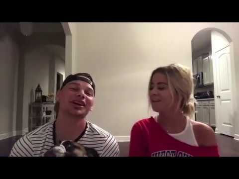 Video Kane Brown and His Wife Singing together for Valentines Day download in MP3, 3GP, MP4, WEBM, AVI, FLV January 2017