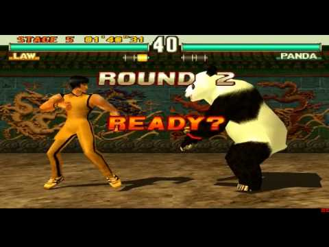 Video Tekken 3 - Law Arcade Mode [PS1] download in MP3, 3GP, MP4, WEBM, AVI, FLV January 2017