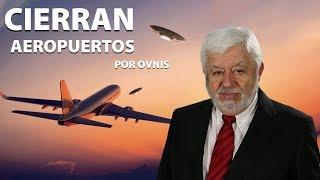 Cierran Aeropuertos por OVNIS
