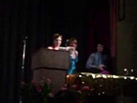 OHS Drama Banquet 07 08 Season Janet Jackson IVIE