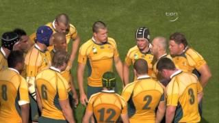 Rugby 2007. Quarterfinal. Australia V England