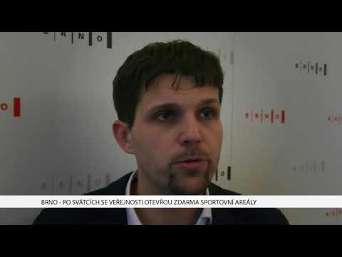TV Brno 1: 7.12.2017 Po svátcích se veřejnost zdarma otevřou sportovní areály