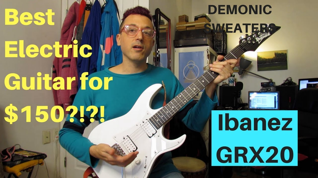 Ibanez GRX20 The Best Electric Guitar For $150?