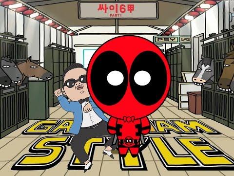 Deadpool vs Gangnam Style – PSY Parody