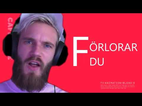 All PewDiePie's YLYL Intros (Skrattar Du Förlorar Du) [PART 1]