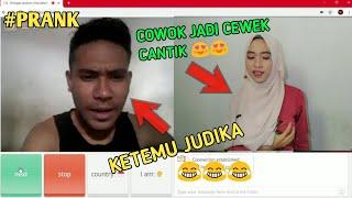 Video PRANK !!JADI CEWEK DI OME TV KETEMU JUDIKA!!! -OME TV INDONESIA MP3, 3GP, MP4, WEBM, AVI, FLV Juni 2019