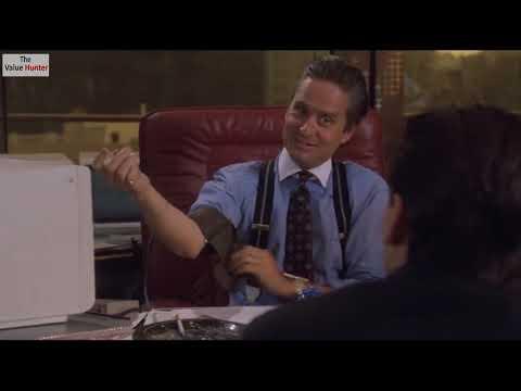 Wall Street 1987 - Gordon Gekko It's a dog Bud Fox's stocks