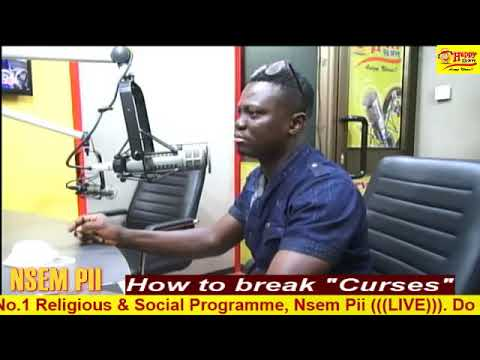 #NsemPii: Kwaku Lucifer details How to break curses (Part 1)