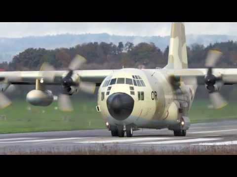 Several cargo aircrafts of Royal...