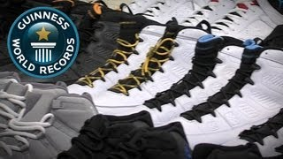 World's Largest Sneaker Collection - Meet the Record Breakers - Guinness World Records