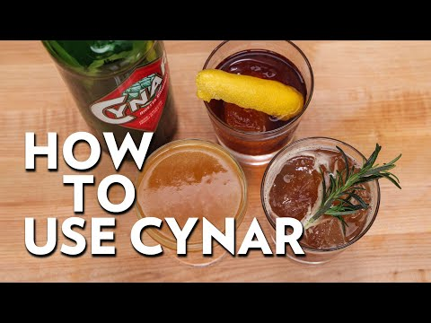 How to use Cynar In Cocktails