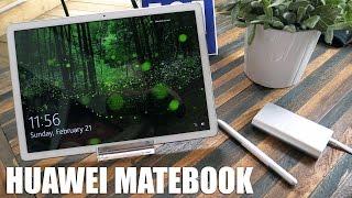 Auf dem Mobile World Congress 2016 wurde das Huawei MateBook vorgestellt, das wir uns bereits ausführlich anschauen konnten. In diesem Video schildern wir eu...