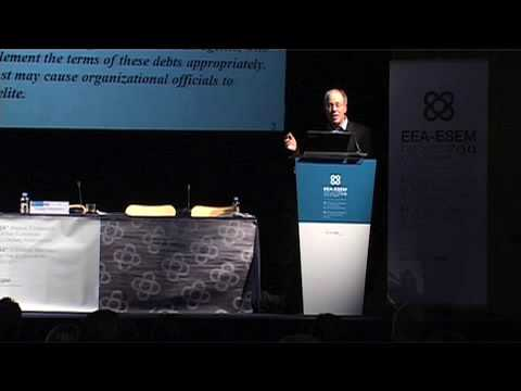 EWR-ESEM09: Roger Myerson, Econometrics Society Presidential Address (Teil 2)