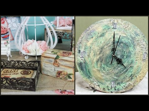 decoupage - varie decorazioni in decapè