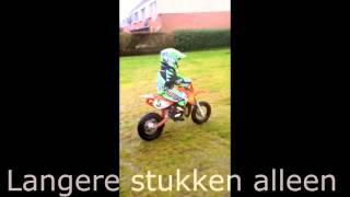 10. KTM SX 50 Junior - Rayen Deenik - Eerste keer rijden!