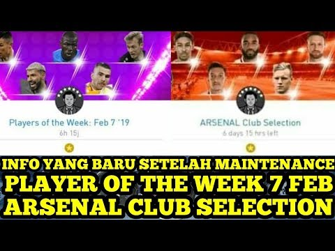 INFO SETELAH MAINTENANCE ! ARSENAL CLUB SELECTION : 100% BLACKBALL !!!
