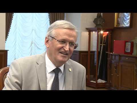 Президент Республики Молдова провел встречу с председателем Академии наук Молдовы