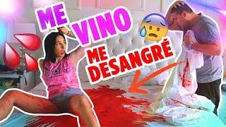 ME DESANGRO POR EL PERIODO! 😱 IGNORANDO A MI NOVIO PARTE 3 | Mariale