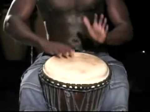 Africa Drum music (djembe solo)