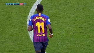 Video Ousmane Dembélé vs Boca Juniors | Every Touch | 15/08/2018 MP3, 3GP, MP4, WEBM, AVI, FLV Agustus 2018