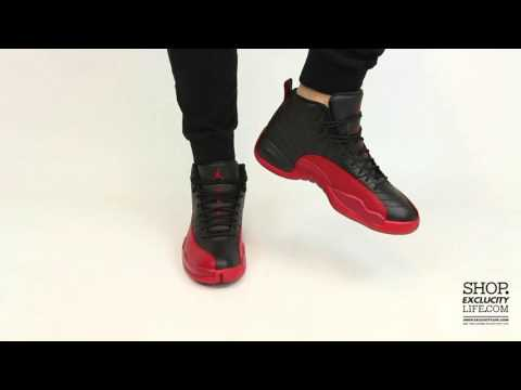 "Air Jordan 12 Retro ""Flu Game"" On-feet Video at Exclucity"