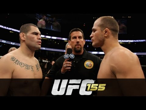 II - Junior dos Santos defends the UFC heavyweight title against he man the beat to get it, Cain Velasquez. Plus Joe Lauzon and Jim Miller meet in lightweight scr...