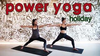 Video 30 Minute Holiday Power Yoga Workout MP3, 3GP, MP4, WEBM, AVI, FLV Maret 2018