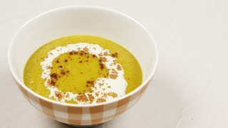 You can use your blender to make a quick, healthy, and satisfying bowl of squash soup! Visit our website for more food news, ...