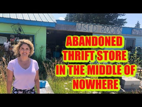 Abandoned THRIFT STORE in the Middle of NOWHERE Storage Wars Casey