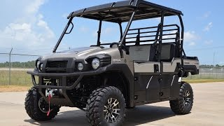6. $16,999:  2018 / 2017 / 2016 Kawasaki Mule Pro FXT Ranch Edition Overview and Review