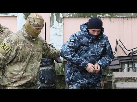 Στη φυλακή οι Ουκρανοί ναύτες