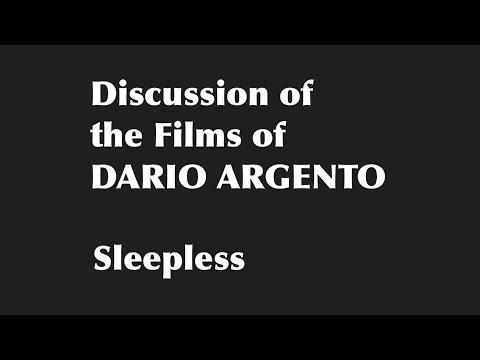 The Films Of Dario Argento 14: Sleepless (Non Ho Sonno)