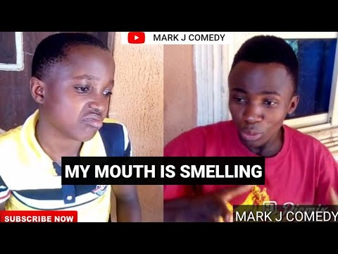 MY MOUTH IS SMELLING #markangelcomedy #samspedy#yawa #funnyvideo #emmanuela