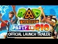 RAD Soldiers iPhone iPad Party in Rio Launch Trailer
