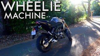 3. 2017 Kawasaki z125 Pro First Ride and Review (Stunts)
