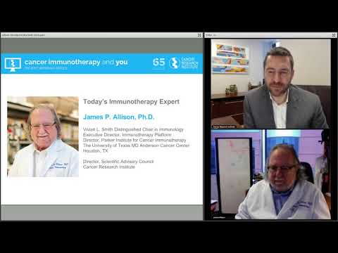 Video Taking the Brakes Off the Immune System, with Dr. James P. Allison download in MP3, 3GP, MP4, WEBM, AVI, FLV January 2017