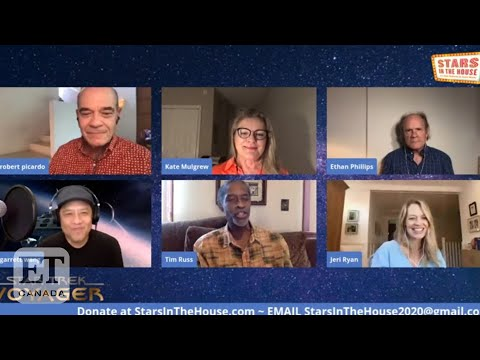 'Star Trek: Voyager' Cast Reunion On 'Stars In The House'