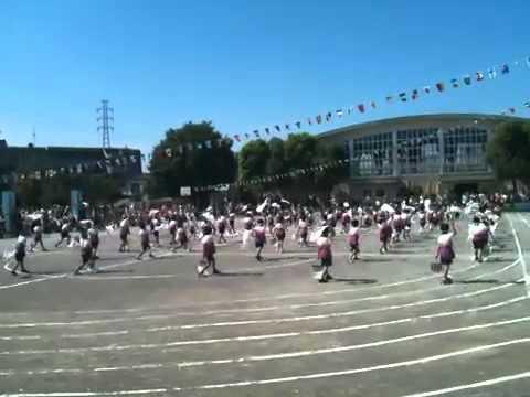2010/9/26 東柴又小学校運動会「よさこい雷神ソーラン風神」 09/25/2010 06:39pm P