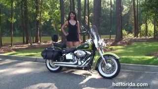 3. Used 2011 Harley Davidson  Heritage Softail Classic Motorcycles for sale