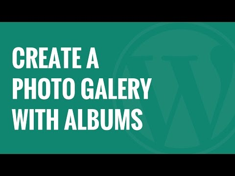 Video How to Create a Photo Gallery with Albums in WordPress download in MP3, 3GP, MP4, WEBM, AVI, FLV January 2017