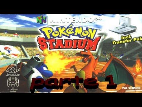pokemon stadium nintendo 64 test