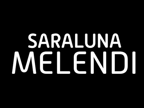Melendi- Saraluna (Lyric Video)