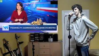 Gościu nagrał piosenke na podstawie pasków wiadomości TVP
